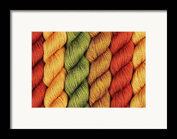 Rust Framed Print featuring the photograph Yarn With A Twist by Jim Hughes