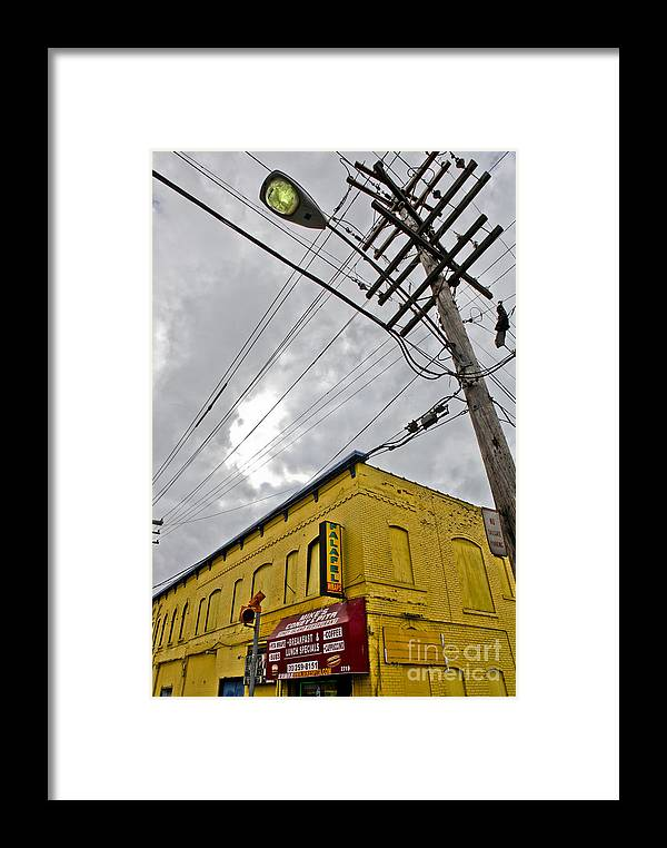 Detroit Framed Print featuring the photograph Yellow by Kelly Morrow