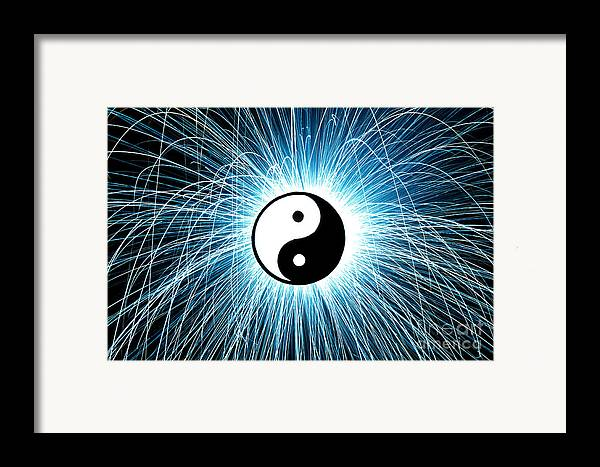 Yin Yang Framed Print featuring the photograph Yin Yang by Tim Gainey