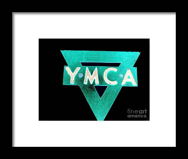 Ymca Framed Print featuring the photograph Ymca by Ed Weidman