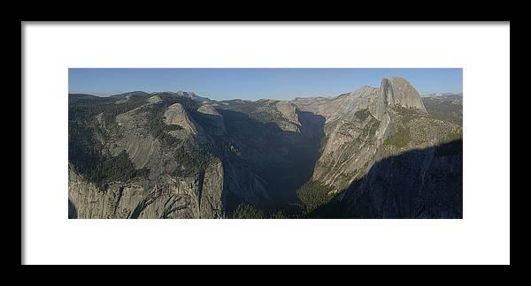 Yosemite Photographs Framed Print featuring the photograph Yosemite by Gary Lobdell