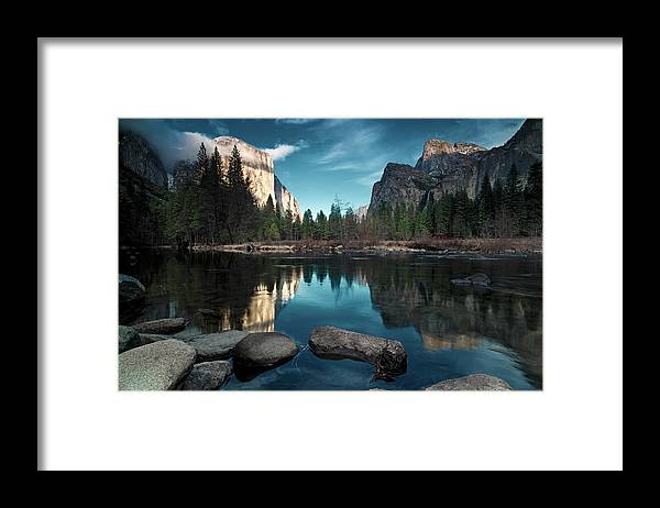 Scenics Framed Print featuring the photograph Yosemite Valley by Joe Ganster