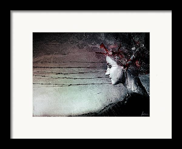 Music Framed Print featuring the digital art You Promised Me A Symphony by Mario Sanchez Nevado