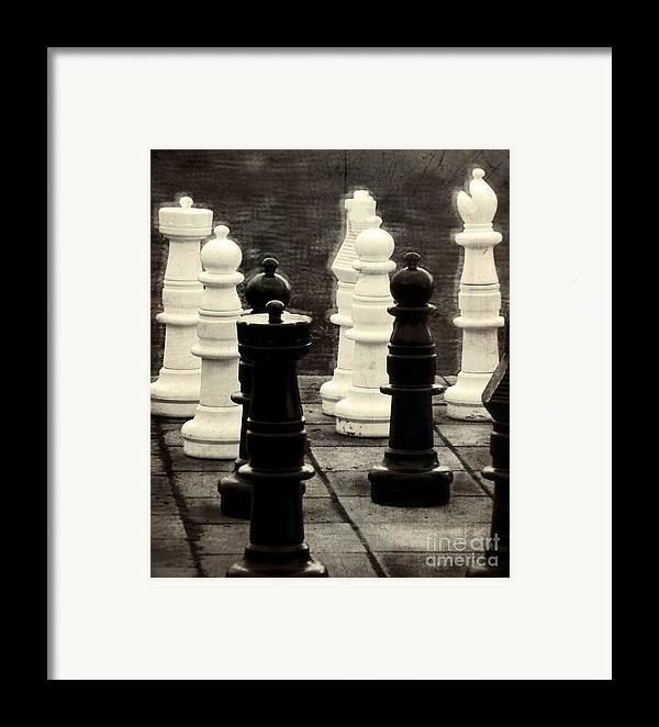Chess Framed Print featuring the photograph Your Move by Colleen Kammerer