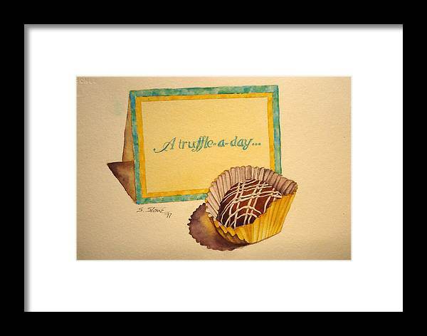 Still Life Framed Print featuring the painting You're Invited by Sandra Stone