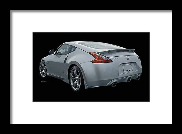 Nissan 370 Z Framed Print featuring the photograph Z by Larry Linton
