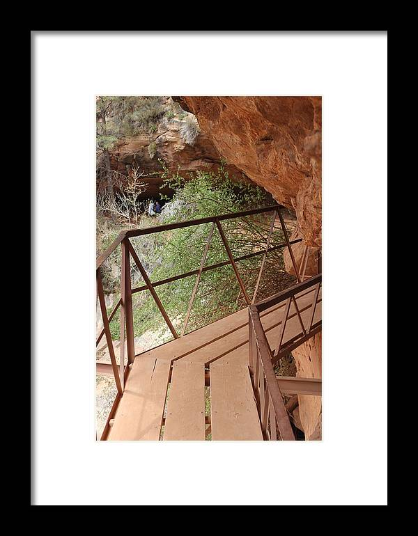 Zion Framed Print featuring the photograph No Where To Go by Renee Sinatra