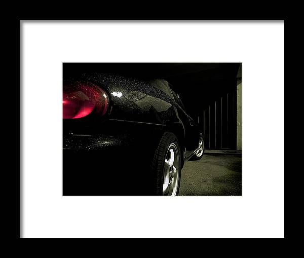 Mazda Framed Print featuring the photograph Zoomzoom by Petra Kontusic