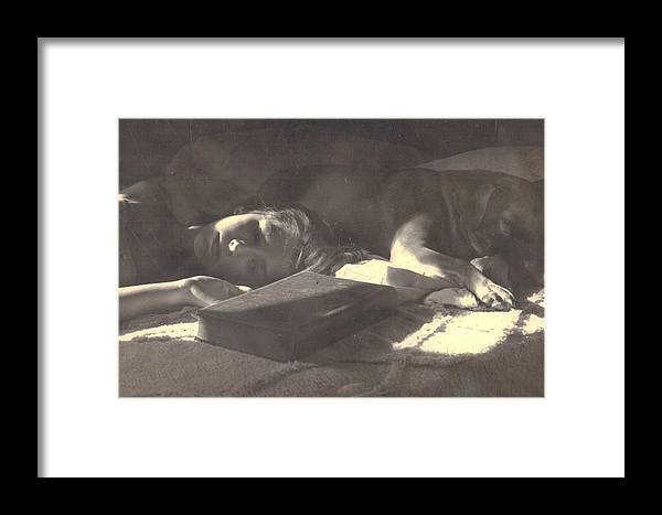 Photograph Framed Print featuring the photograph      The Dream by Trudy Brodkin Storace