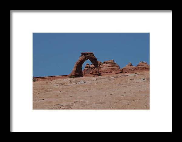Arch Framed Print featuring the photograph Arches National Park by Artistinoz Jodie sims