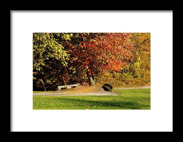 Autumn Colors Framed Print featuring the photograph  Autumn Colors by Heinz G Mielke