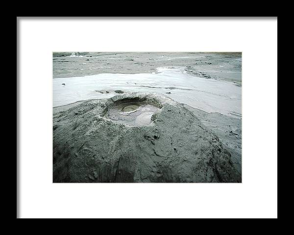 Moody Framed Print featuring the photograph Moody Volcanoes 2 by Amalia Suruceanu