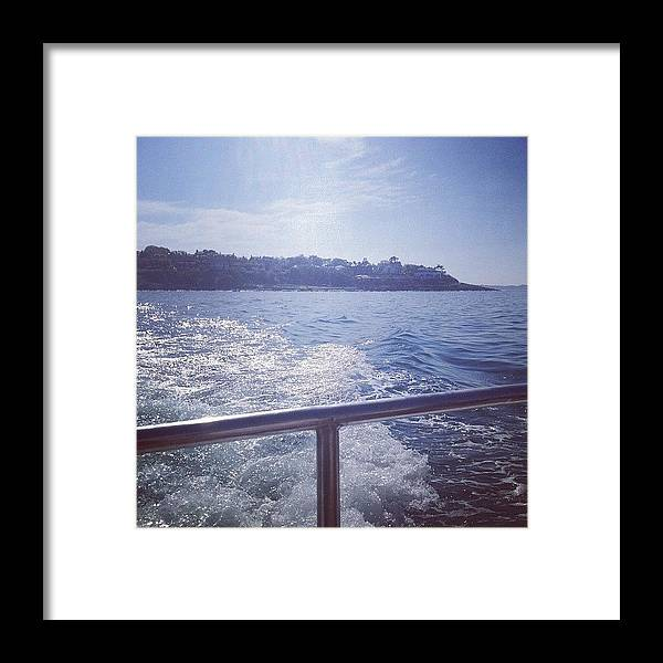 Bangor Framed Print featuring the photograph :) #sea #boat #bangor by Amy Reid 💜