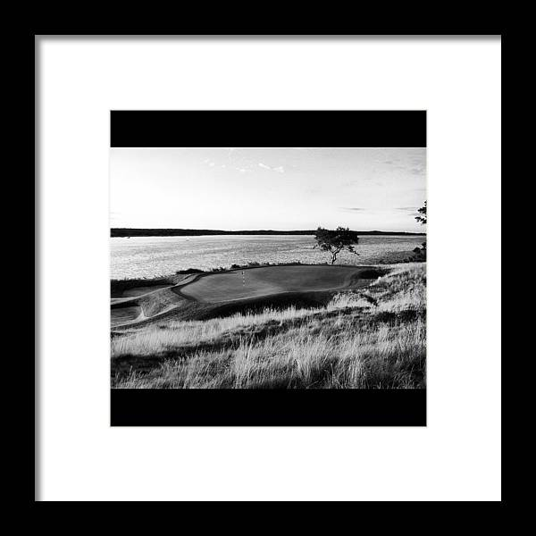 Golf Framed Print featuring the photograph Seclusion by Chris Corbin