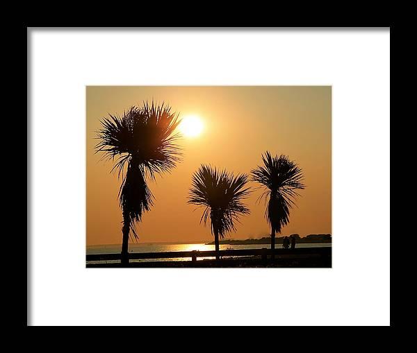 Summer Framed Print featuring the photograph Summers Evening by Karen Grist