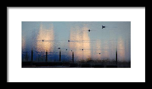 Water Framed Print featuring the photograph 0024a by Robert Reese