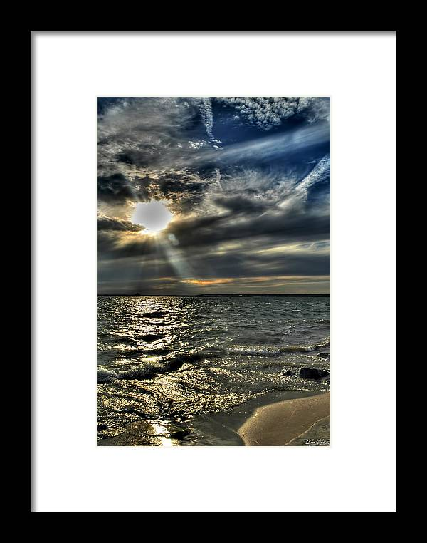 Framed Print featuring the photograph 005 In Harmony With Nature Series by Michael Frank Jr