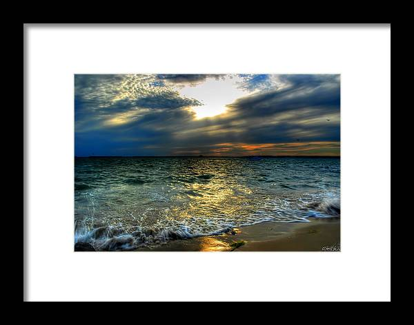 Framed Print featuring the photograph 006 In Harmony With Nature Series by Michael Frank Jr