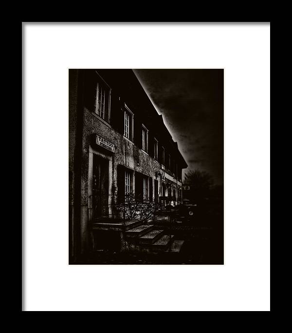 Gloom Framed Print featuring the photograph 009 - Gloom by Mimulux patricia No