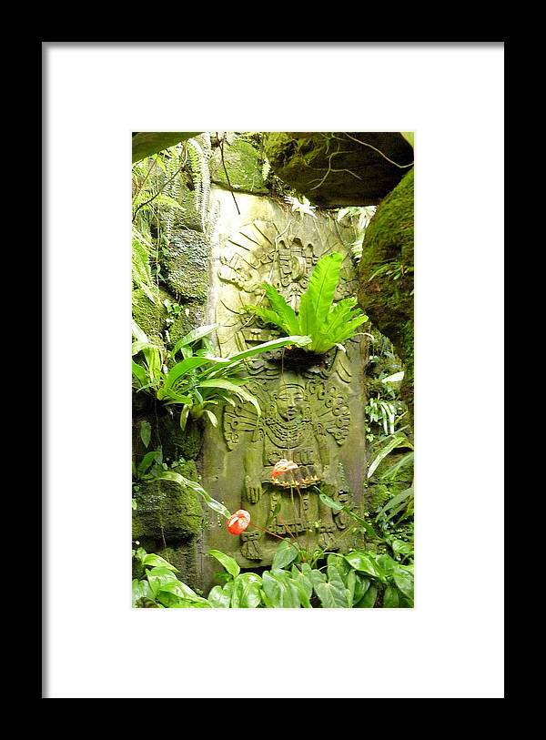 Temple Framed Print featuring the photograph 014 Temple-ish by Carol McKenzie