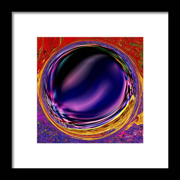 Abstract Framed Print featuring the digital art 0538 Abstract Thought by Chowdary V Arikatla