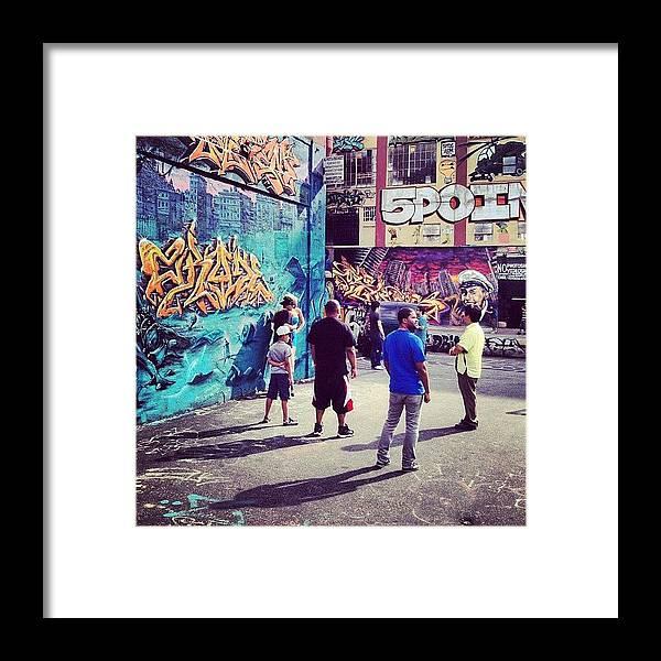 Summer Framed Print featuring the photograph 5 Pointz by Randy Lemoine