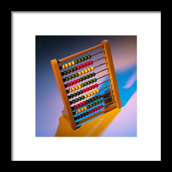 Abacus Framed Print featuring the photograph Abacus by Mark Sykes