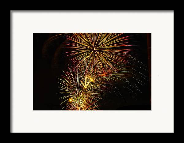4th Of July Framed Print featuring the photograph American Pinwheel by Joshua Dwyer