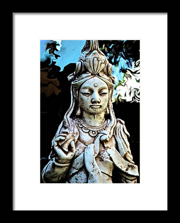 Framed Print featuring the photograph Asian Influence by Lori Leigh