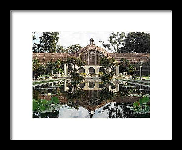 Koi Pond Framed Print featuring the photograph Balboa Park by Dean Robinson