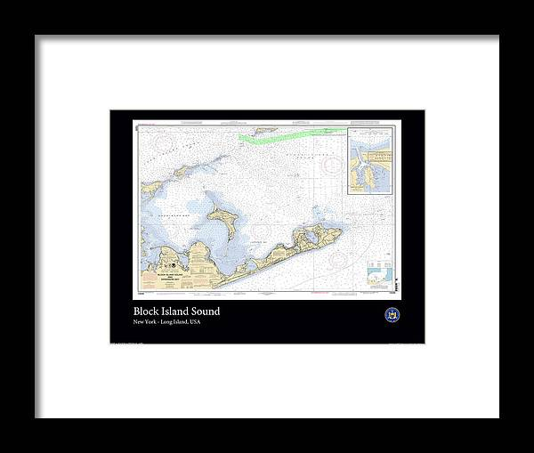Ocean Framed Print featuring the photograph Block Island Sound by Adelaide Images