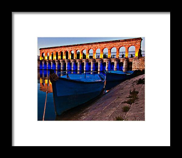 Nature Framed Print featuring the photograph Bridge - 3 by Okan YILMAZ