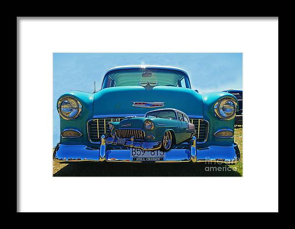 Cars Framed Print featuring the photograph Cadp0738-12 by Randy Harris