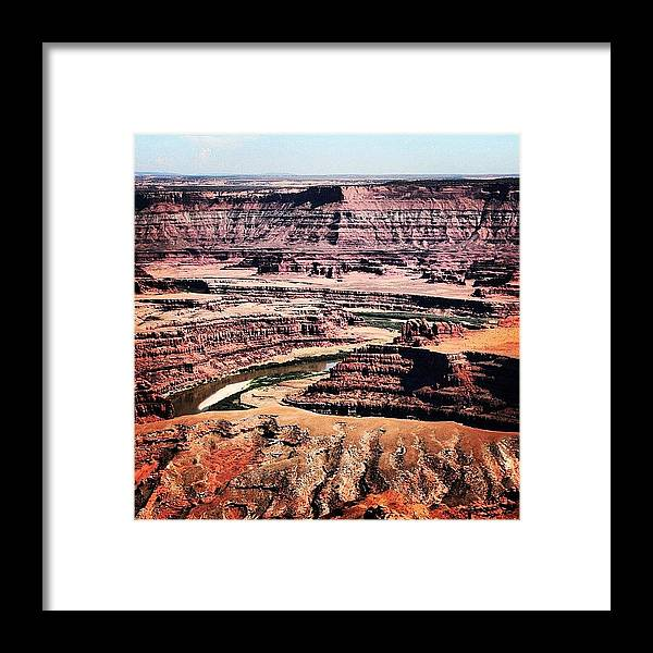 Beautiful Framed Print featuring the photograph Canyonlands by Luisa Azzolini
