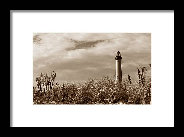 Cape May Framed Print featuring the photograph Cape May Lighthouse by Skip Willits