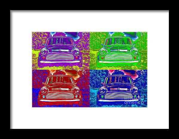 Mini Framed Print featuring the photograph Classic Mini by Gavin Wilson