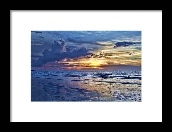 Beach Framed Print featuring the photograph Color of Light by Douglas Barnard