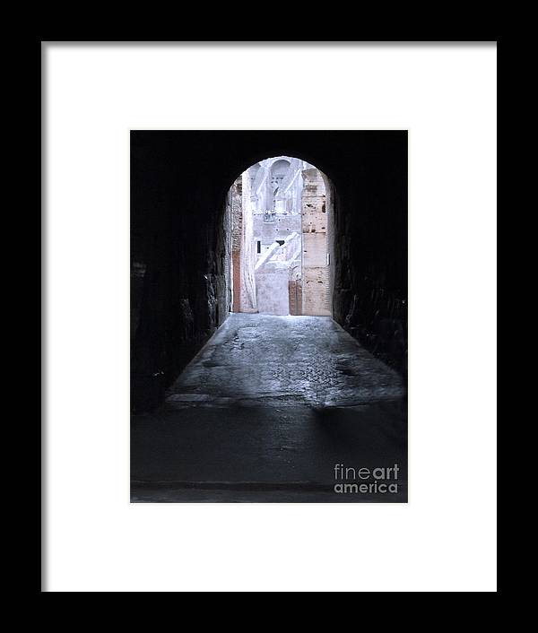Coloseum Rome Framed Print featuring the photograph Coloseum Rome by Paul Sandilands