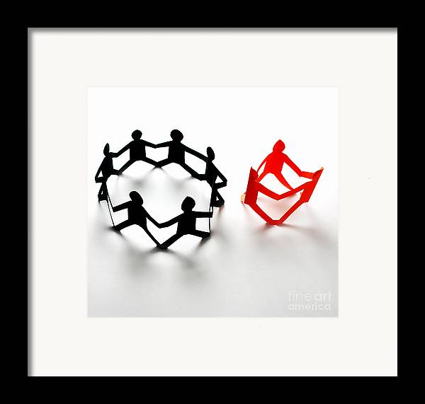 Concept Framed Print featuring the photograph Conceptual Situation by Photo Researchers, Inc.