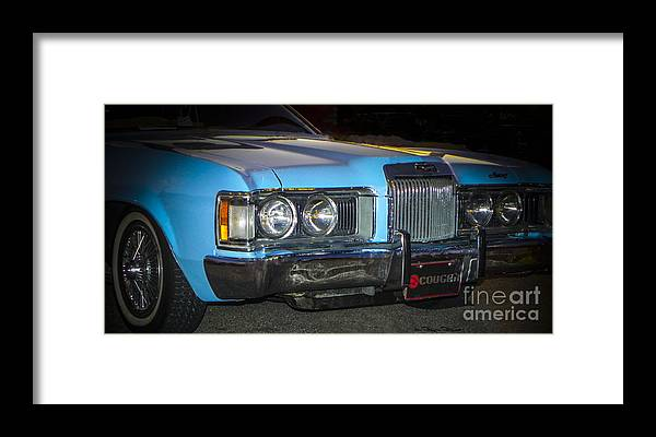 Low Rider Framed Print featuring the photograph Cougar by Chuck Re