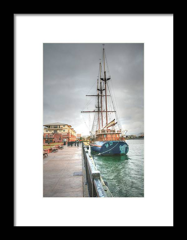 Pensacola Framed Print featuring the photograph Days Of Old by David Troxel