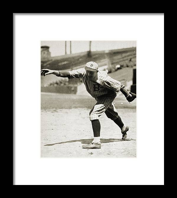 1920s Framed Print featuring the photograph Dazzy Vance (1891-1961) by Granger