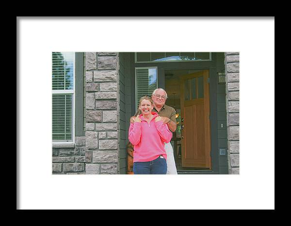 Framed Print featuring the photograph Deb And Phil by Liz Santie