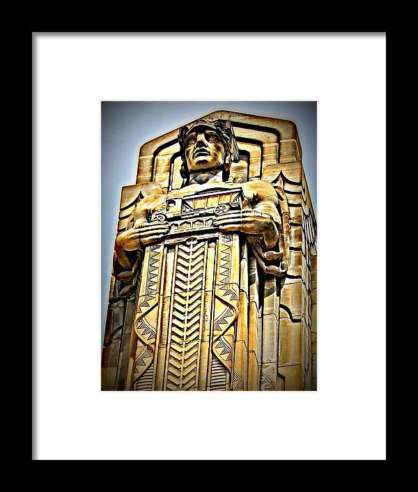 Framed Print featuring the photograph Deco by Tim Burgin
