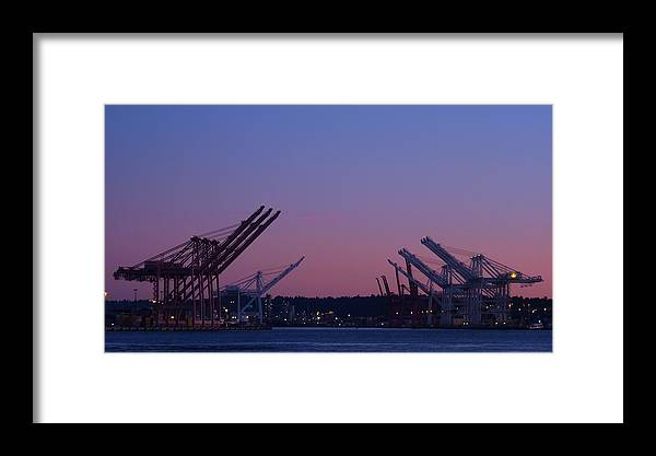 Seattle Framed Print featuring the photograph Downtown Seattle by Rylee Stearnes