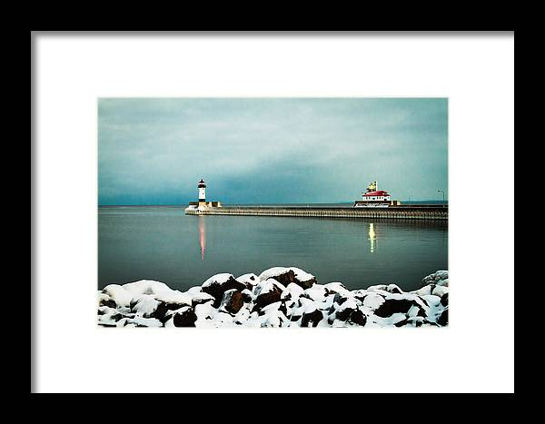 Duluth Framed Print featuring the photograph Duluth Harbor by David Wynia