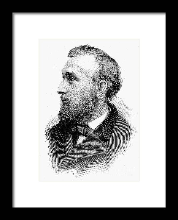 19th Century Framed Print featuring the photograph Edward Charles Pickering by Granger