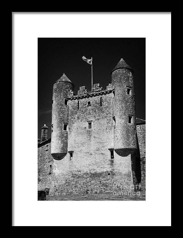 Northern Ireland Framed Print featuring the photograph Enniskillen Castle County Fermanagh Ireland by Joe Fox