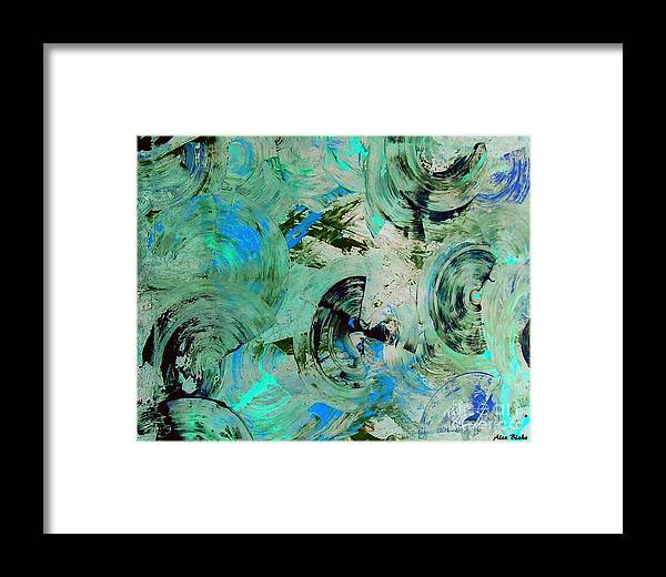 Modern Framed Print featuring the painting Fiinuaa by Alex Blaha