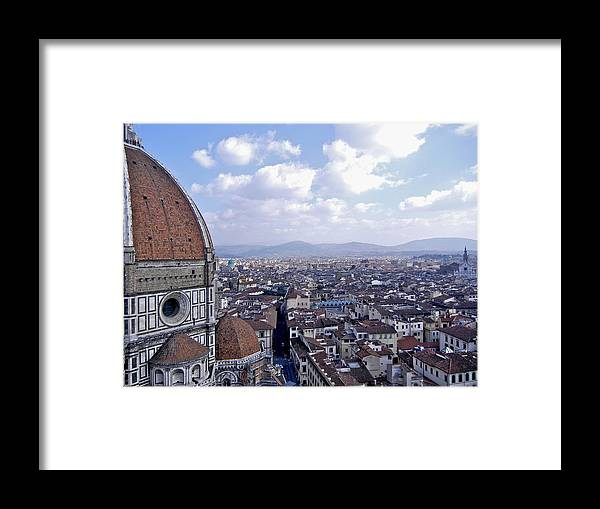 Florence Framed Print featuring the photograph Florence I by David Ritsema
